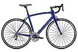 Fuji Gran Fondo Classico 1.1 - Bicicleta de carreras (28', 58 cm), color azul