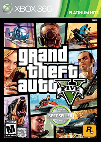 Grand Theft Auto V - Xbox 360 (Renewed)