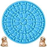 BESLIME Almohadilla para Lamer, Almohadilla Lamer de Perros para DuchaCompañero de Ducha para Mascotas, Dispositivo de Distracción para Lavado de Perros, Hacer Que la Hora del Baño Divertida(Azul)