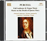 Full Anthems & Organ Music by PURCELL (1995-05-09)
