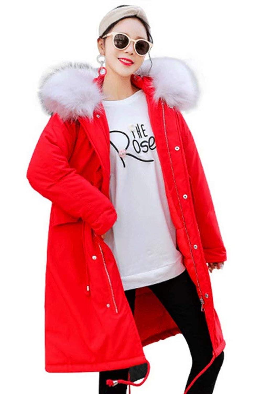 [アビコ]ABICO レディース スタリッシュ コート 中綿入り 綿コート ダウンコート あったか 保温 ゆったり 大きいサイズ ファー フード ポケット付き