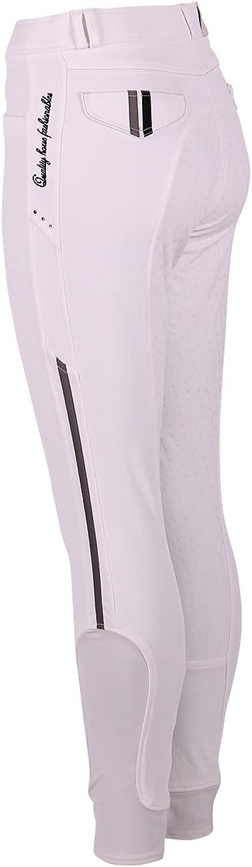 QHP Reithose Coco Voll Grip Kinderreithose mit farbigen farbigen farbigen Akzenten und Strass B01LZN0RPB  Gutes Design b09a55