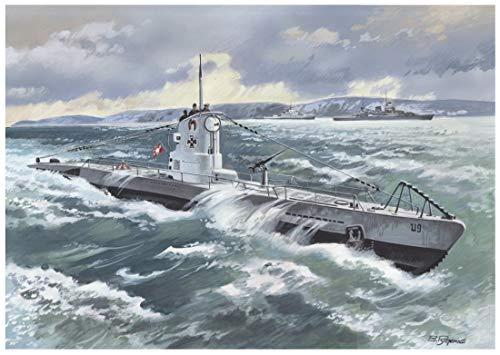 ICM S.009 - Maqueta de Submarino alemán Tipo IIB, 1939