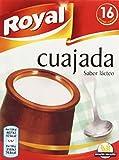 Royal Cuajada Tradicional Azucarada en Polvo - 16 Raciones, 48 g
