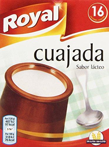Royal - Cuajada - Sabor lácteo, 16 raciones