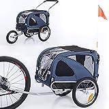 Sepnine 2 in1 Medium pet Dog Bike Trailer Bicycle Trailer and Jogger...