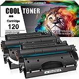 Cool Toner Compatible Toner Cartridge Replacement for Canon 120 cartridge 120 CRG-120 Canon imageCLASS D1120 D1550 D1150 D1320 D1350 D1520 D1100 D1370 D1180 D1170 MF6680DN MF417dw (Black, 2-Pack)