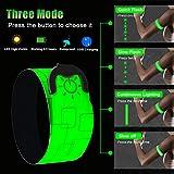 Immagine 2 led bracciale braccialetto ricaricabile usb
