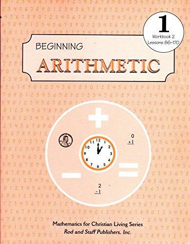 Rod & Staff Grade 1 Math: Student Book, Part 2 (1st) - THIRD EDITION