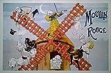 Moulin Rouge | UK Import Plakat, Poster [61 x 91,5 cm]
