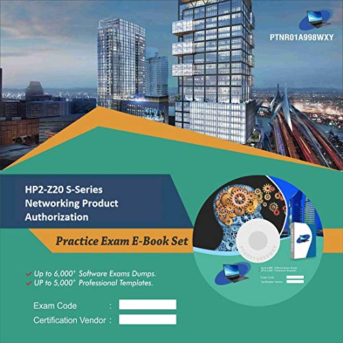 HP2-Z20 S-Series Networking Product Authorization Online Certification Video Learning Success Bundle (DVD)
