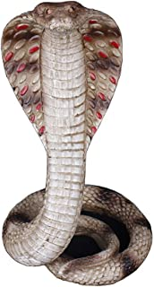 Individuality Cobra Sculpture, Snake Statue Animal Figure Snake Goddess Cold-Blooded Animal Decorative Horror Sculpture