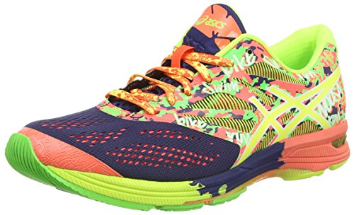ASICS Gel-Noosa Tri 10 - Zapatillas de running para hombre, color azul (indigo blue/flash coral/flash 4906), talla 44.5