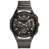 Bulova Orologio Cronografo Quartz Uomo con Cinturino in Acciaio Inox 98A206