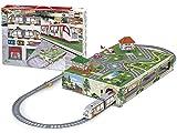 PEQUETREN Pequetren107 City Metro Train con Subground Diorama