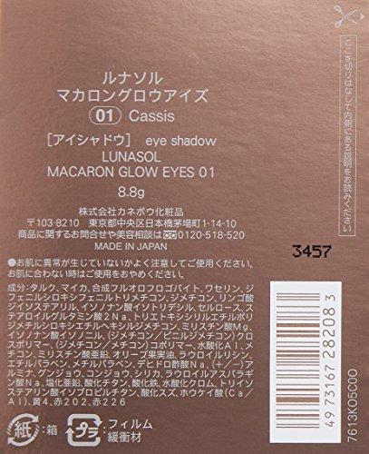 カネボウルナソル『マカロングロウアイズ#01』