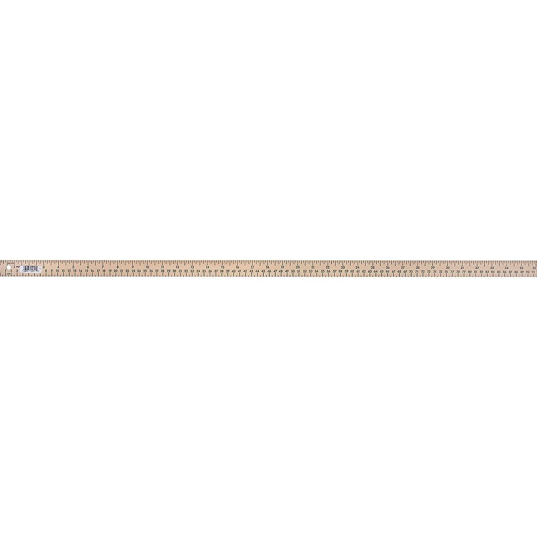 Dritz 744 Wooden Yardstick with Metal Tips, 1/4 x 36-Inch