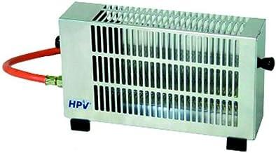 Calefactor de gas–HPV Alemania–Convección calefactor––con seguro para tienda–Caravana–Salas–Conector a 5o 11kg botellas de gas–Distribución Holly Productos Stabielo–Holly de Sunshade®