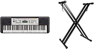 Yamaha YPT-260Teclado digital portátil para principiantes, 61 teclas y una amplia variedad de funciones y sonidos, color n...