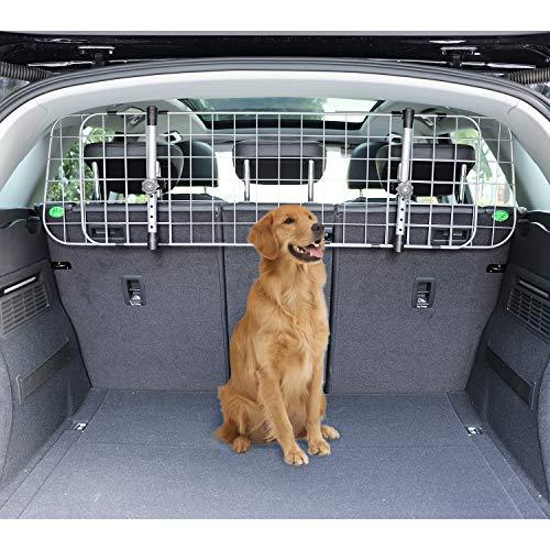 Amazon Basics Adjustable Dog Car Barrier - 12-Inch, Gray