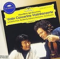 ベルク、ストラヴィンスキー:ヴァイオリン協奏曲、他