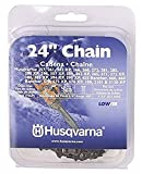 Husqvarna Chainsaw Chain 24-Inch .050 Gauge 3/8 Pitch Low Kickback Low-Vibration, Gray, 24 inches...