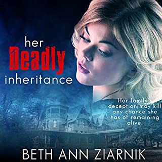 Her Deadly Inheritance audiobook cover art