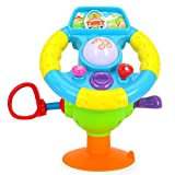 Early Education 18 Months Olds Baby Toy Electronic Steering Wheel Baby Musical Early