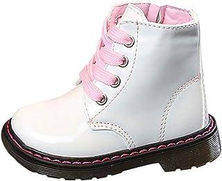 03ce7b0ff2a13 Beautyjourney Chaussure De BéBé Fille Chaussure BéBé Blanc Chaussures Enfant  Fille BéBé Enfants Chaud GarçOns Filles