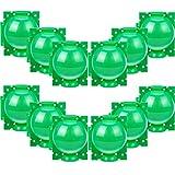 Caja Cultivo Enraizamiento Plantas Reutilizable Bola Propagación Dispositivo Injerto Caja Enraizamiento Jardín Asistido Controlador Corte Raíz Controlador Raíz Botánica Injerto, S, Verde (12 Piezas)