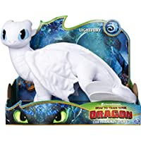 Dragons 6052953 Deluxe Plush LightFury (Assorted Colours)