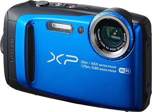 FUJIFILM デジタルカメラ XP120 ブルー 防水 FX-XP120BL