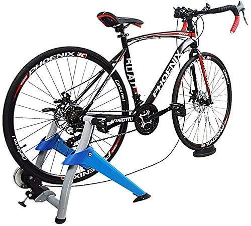 YQTXDS Bicicleta Plataforma para Montar en Interiores Marco de Ejercicios Ejercicio Entrenamiento físico Ejercicio Fijo Soporte Adjus (Entrenador de Bicicletas)