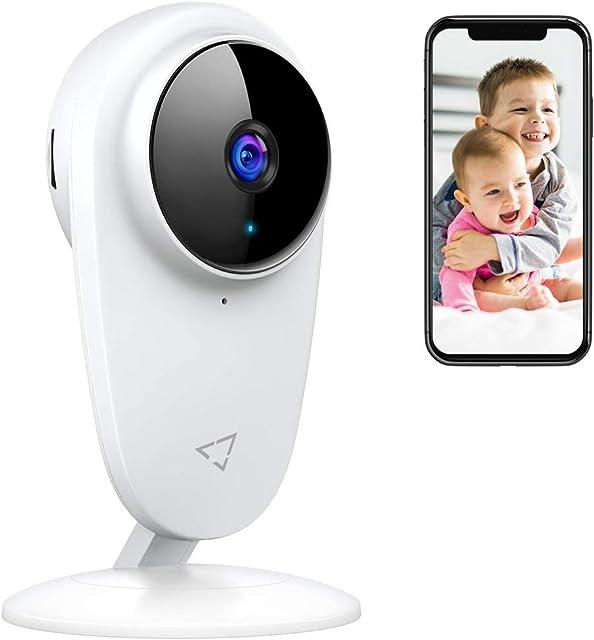 Victure 1080P Cámara IP 2.4GHZ WiFi Cámara de Vigilancia con Detección de Sonido y Seguimiento de Movimiento Camara vigilancia