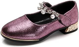 Girls Bowtie Hook&Loop Dressy Mary Jane Flats
