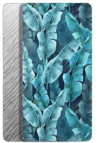 QWAS Ocean - Toalla de playa de microfibra, secado a la luz, diseño de ondas, 4,80 cm x 130 cm