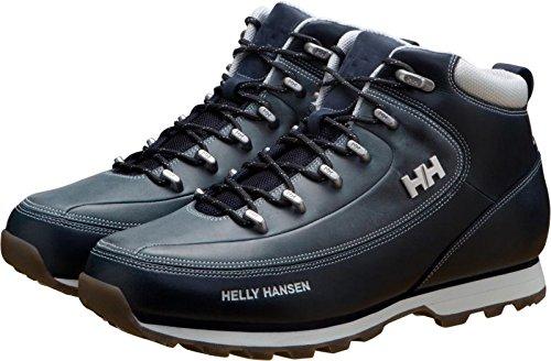 Helly Hansen THE FORESTER, Botas de nieve para Hombre, Azul (Navy/Vapourus Grey/Gum 597), 45 EU