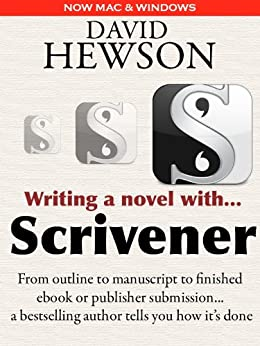Writing a Novel with Scrivener by [David Hewson]