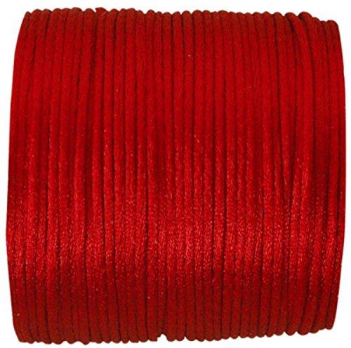 Chenebois Ratto Coda 2mm x 25m, Colore: Rosso