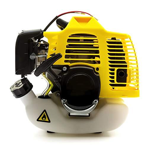 Tomking 52cc 2 Tiempos Mitsubishi Motor - Usado Encendido Jardín Cortacéspedes Desbrozadoras Cañas Ventiladores Fuerabordas Desbrozadora & Exterior Energía Herramientas Maquinaria
