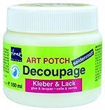 KREUL 48251–Art Potch Decoupage Colla e Vernice Satinata 150ML
