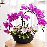 YILIYAJIA Orchid Flowers Artificial...