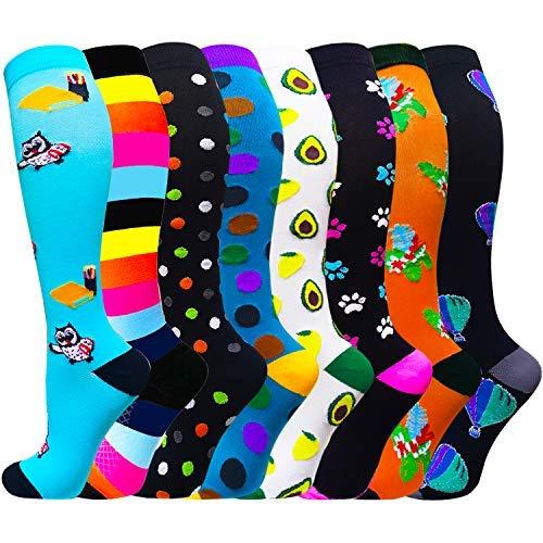 Compression Socks for Women amp Men CirculationCompression Socks 2030 MmhgBest for RunningMedicalNurseTravelCycling