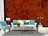 Wall Mural Deep Red Eye Burl Veneer A beautiful wood grain effect with natural Peel and Stick Wallpaper Self Adhesive Wallpaper Large Wall Sticker Removable Vinyl Film Roll Shelf Paper Home Decor