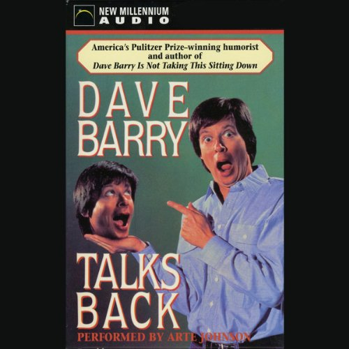 Dave Barry Talks Back cover art