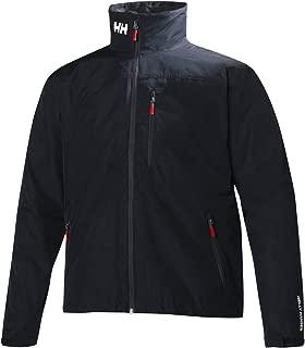 Men's Crew Midlayer Fleece Lined Waterproof Windproof Breathable Rain Coat Jacket