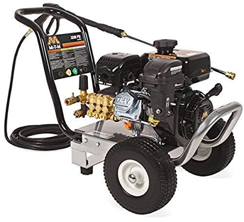 Best Review Of Mi-T-M CM-3000-0MMB cm (ChoreMaster) Series Pressure Washer, Gasoline Direct Drive, 3...