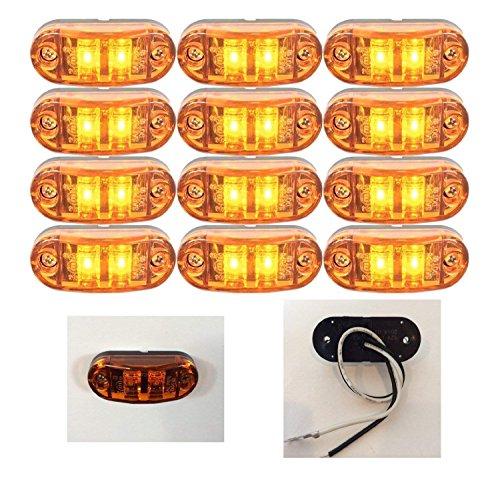 Fydun LED Indicatori a LED Indicatori di direzione laterali per E90 E91 E92 E39 E60 E61 E46 E83 E81 Lampada Indicatore DC 12V Luce Indicatore