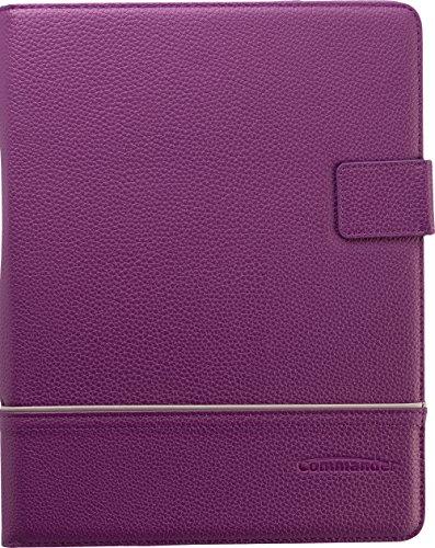 Commander Uni Leder Tablet Case bis 25,4 cm (10 Zoll) Purpur