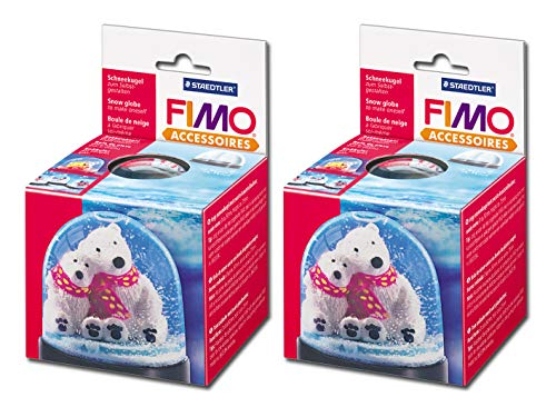 Staedtler FIMO Schneekugel (2, Schneekugel groß)